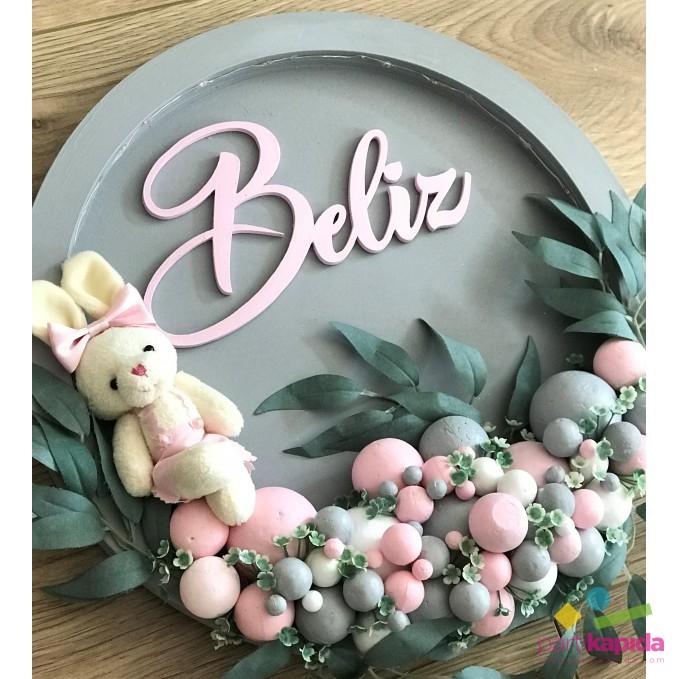 Kasnak Kapı Süsü-Yapraklı ve Tavşanlı-Işıklı